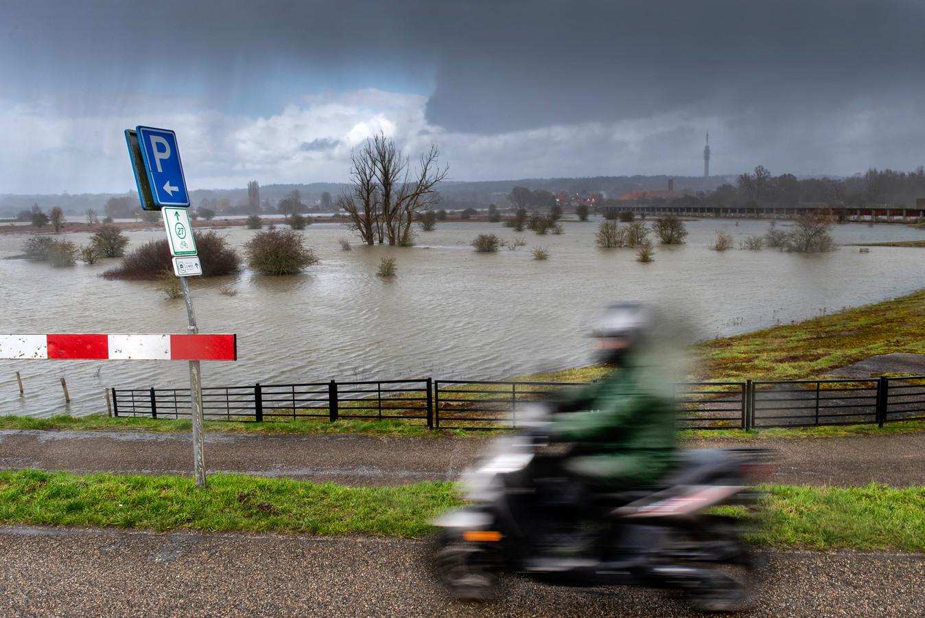 Arnhem, 9 maart 2020. Hoogwater bij park Meijnerswijk . Foto: Gerard Burgers