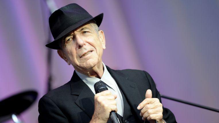 Leonard Cohen Beeld AP