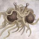 Het 'Flying Spaghetti Monster'