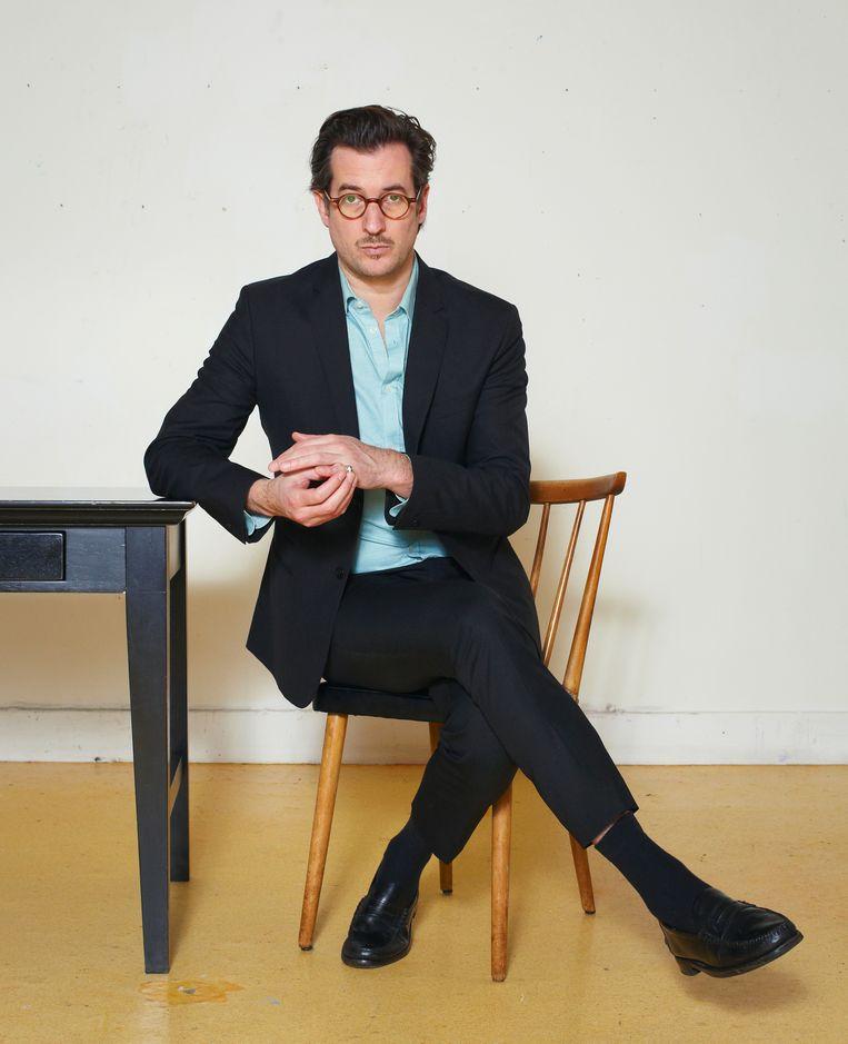 Martijn Smits: 'Toen ik uren later naar  buiten liep, wachtte hij me op en stak hij me bijna meteen in mijn buik.'  Beeld Daniel Cohen