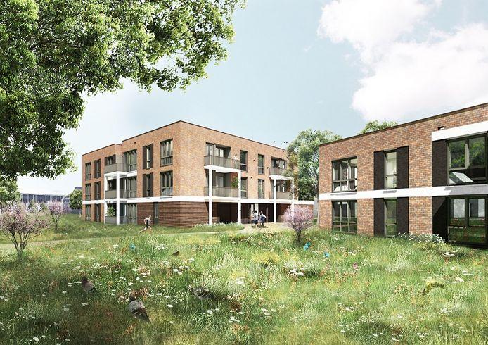 De 9 appartementen op de begane grond gaan naar 55-plussers die in Waalre in een eengezinswoning van Woonbedrijf of een andere woningcorporatie huren.