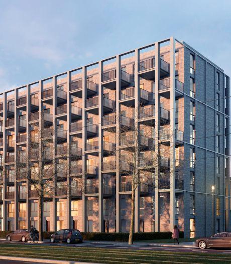 Schiebroek krijgt nieuw appartementencomplex met 74 huurwoningen, bouw is begonnen