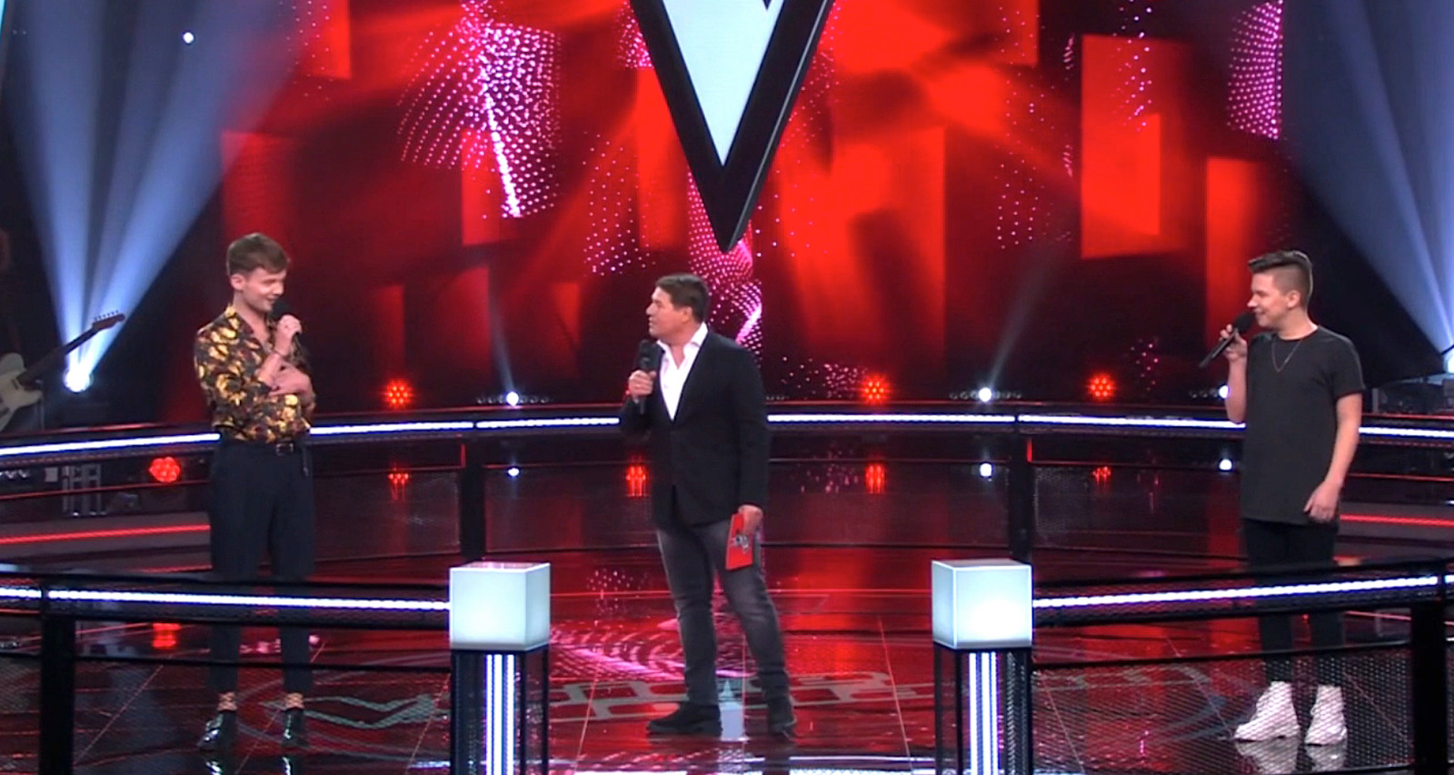 The Battles in The Voice of Holland.