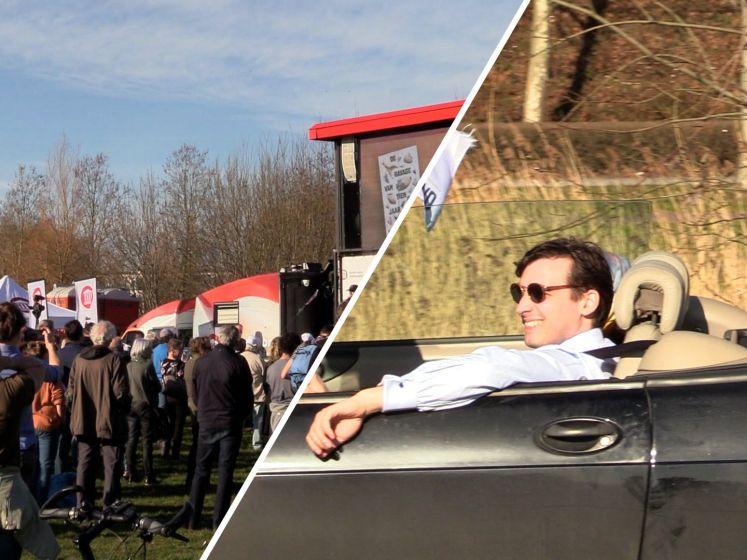 Baudet op campagne in Veenendaal: 'Vaccineren is onzinnig'