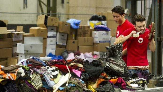 Geen tekort aan vrijwilligers bij het Rode Kruis, ondanks dat één op vijf geen vluchtelingen wil helpen