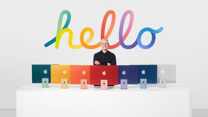 Apple komt met nieuwe iMac, iPad en Apple TV