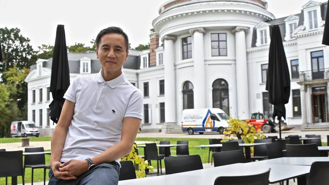"""Van bootvluchteling tot chef: Trung Hoang opent straks brasserie aan Izegems kasteel Blauwhuis: """"Ik ga voor niet-alledaagse smaakcombinaties"""""""