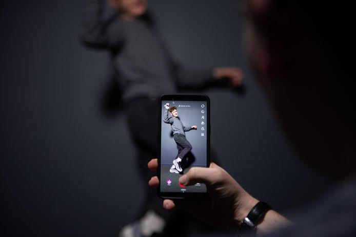 Dansen voor de camera met TikTok.