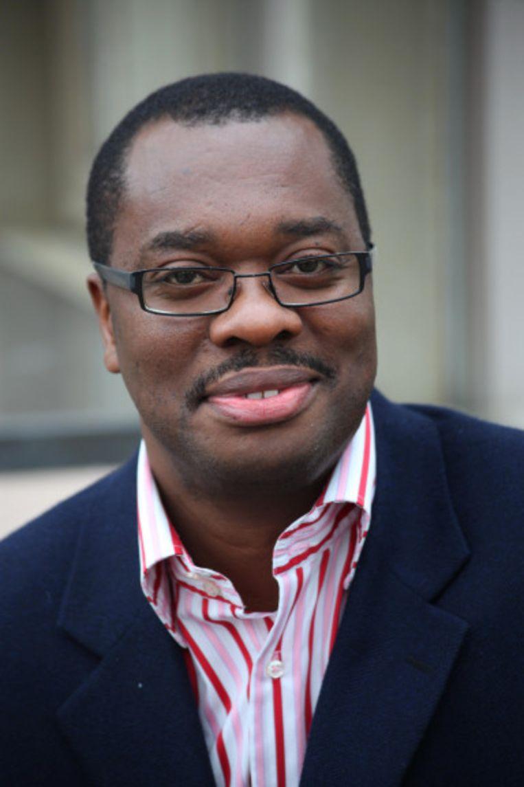 Bob Kabamba, politicoloog aan Universiteit Luik: 'Er zijn bijna geen economische belangen meer waarmee België als staat kan wegen in Congo, alleen nog commerciële belangen van enkele bedrijven.' Beeld rv