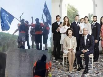 ROYAL BITS. Woeste Canadezen vernielen beelden van de Queen en Zweedse royals weldra weer compleet