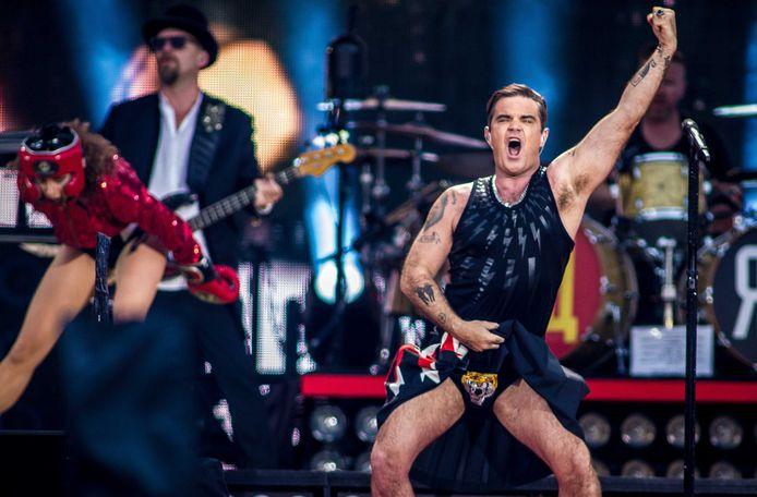 De Britse zanger Robbie Williams verzorgde in 2017 een openluchtconcert in het Goffertpark tijdens zijn tour The Heavy Entertainment Show.