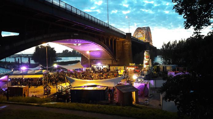 Festival De Kaaij, een van de jaarlijkse hoogtepunten van Nijmegen als Summer Capital.