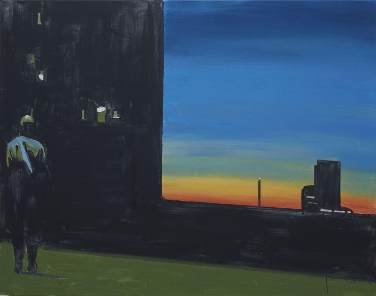 Sunset wordt straks het campagnebeeld voor de ambitieuze operaproductie over WO I van Luk Perceval. Beeld RV