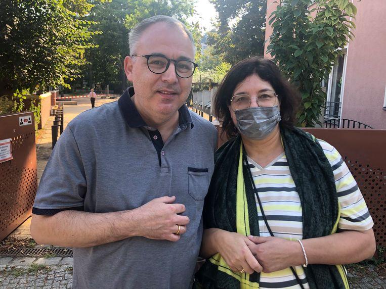 René en Martina Sponholz Beeld Kim Deen