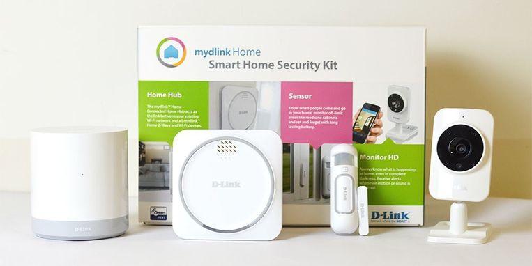 DLink levert al een volledig geïntegreerd alarmsysteem voor 200 euro.