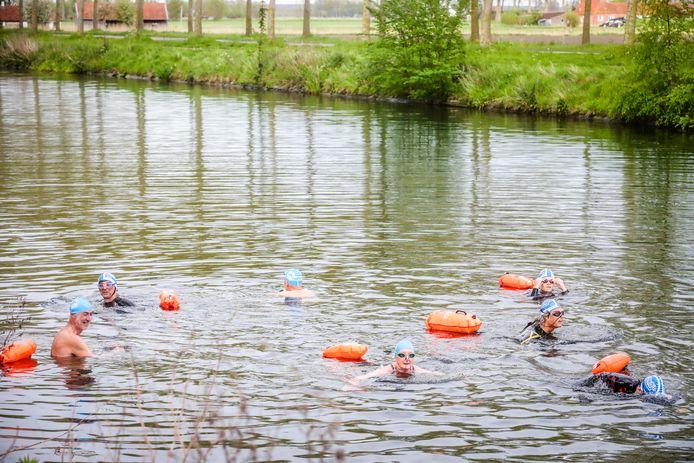 Zwemmers kunnen opnieuw hun favoriete hobby uitoefenen in de Damse Vaart.