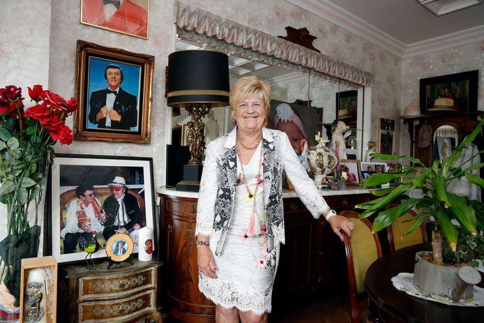 Marina Wally in haar ouderlijke huis.