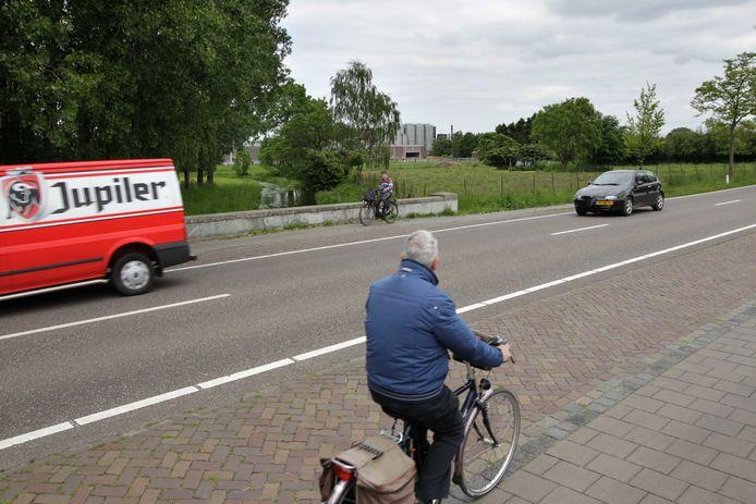 De Westerhovenseweg in Dommelen.