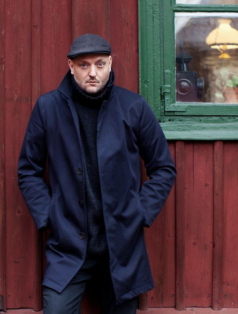 Ook Alexander Stutterheim waagt zich aan wol met zijn nieuwe knitwearmerk Jon Sterner. Beeld rv