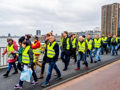 Gele Hesjes demonstreren dit weekeinde in Zeeland