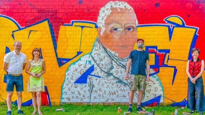 Graffiti brengt graaf Vilain XIIII terug tot leven