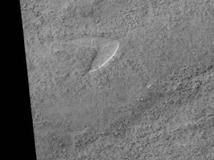 Le logo de Star Trek retrouvé sur Mars