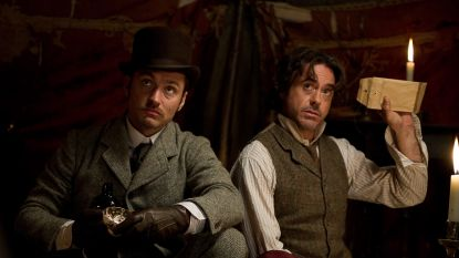 """Ook Robert Downey Jr. blikt 10 jaar terug in de tijd naar zijn eerste Sherlock Holmes-film: """"En nu komt eindelijk de 3de eraan!"""""""