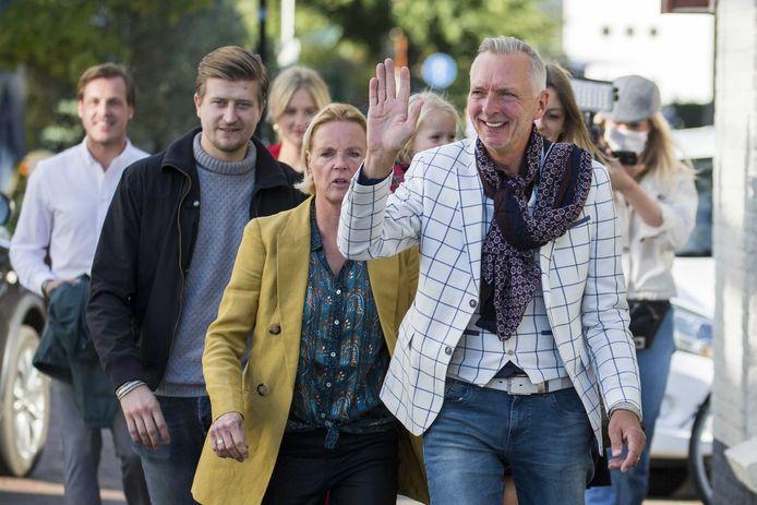 Martien Meiland en zijn familie.