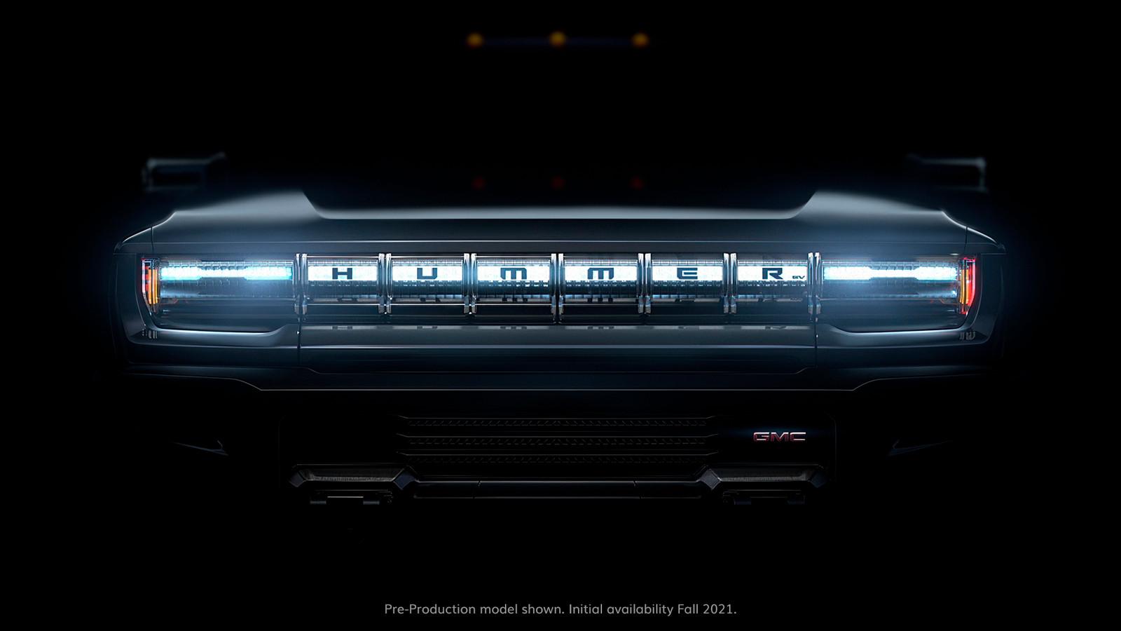 Voorlopig laat General Motors alleen de bumper van de nieuwe generatie zien