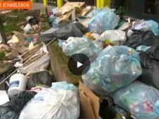 """Une montagne de déchets à la Cité Parc de Marcinelle: """"1.200 tonnes par an"""""""