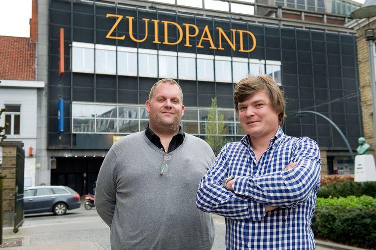 Jelle Vandendriessche (links) met Michiel Joye van de Supermarché.
