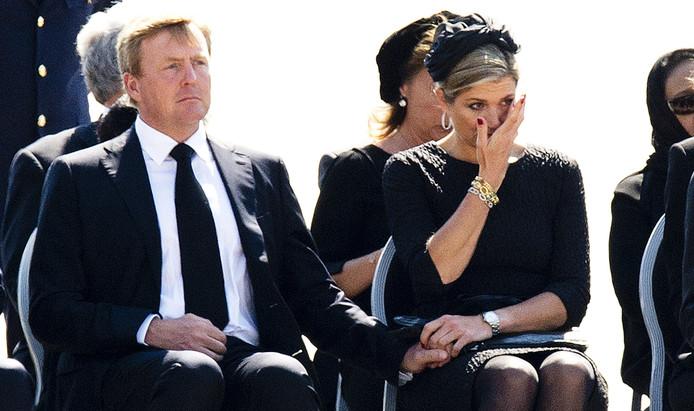 De tranen van koningin Maxima.