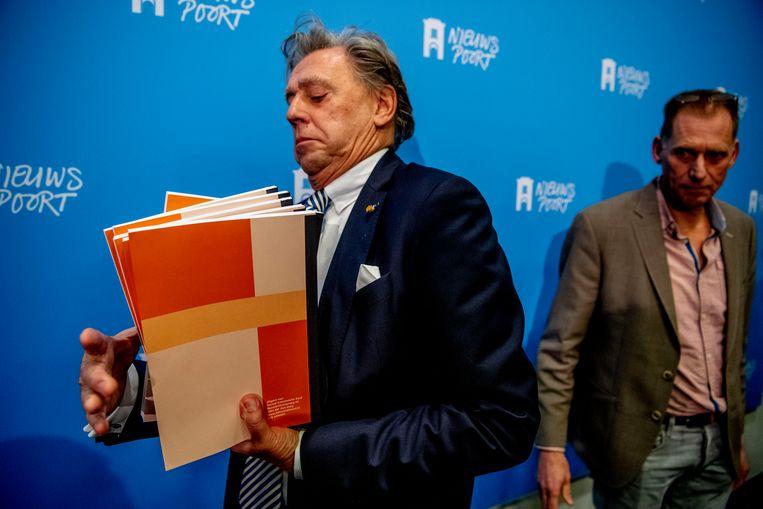 Ed Nijpels bij de presentatie van het Klimaatakkoord Beeld Hollandse Hoogte