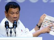 """Duterte veut exécuter """"cinq à six"""" criminels par jour"""