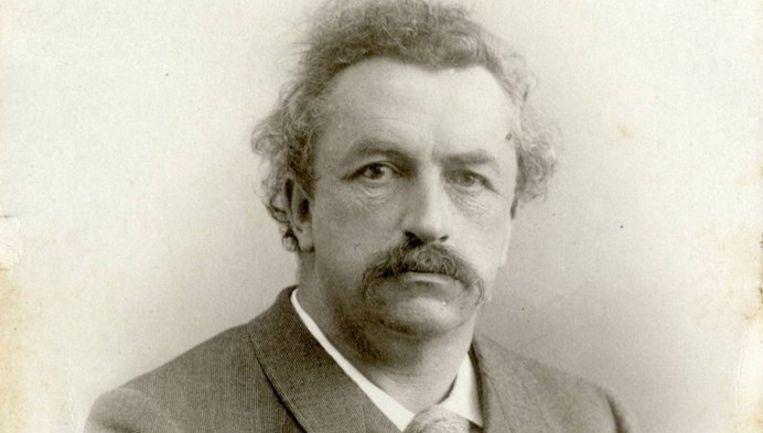 Het begin van '150 jaar Wibaut' vond plaats op de 150e geboortedag van de politicus. Foto familie Wibaut Beeld