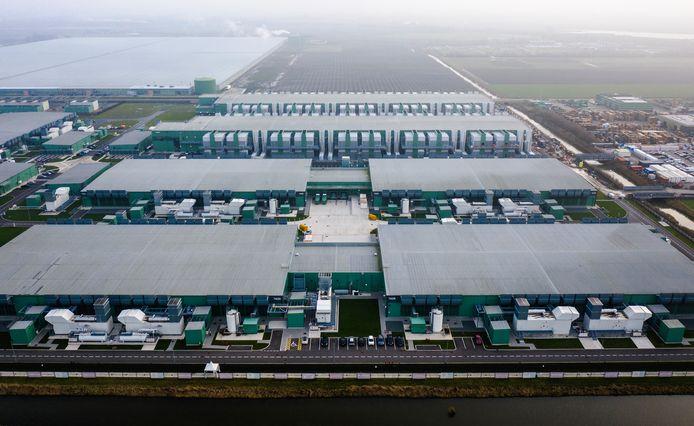 Het datacentrum van Microsoft in Middenmeer