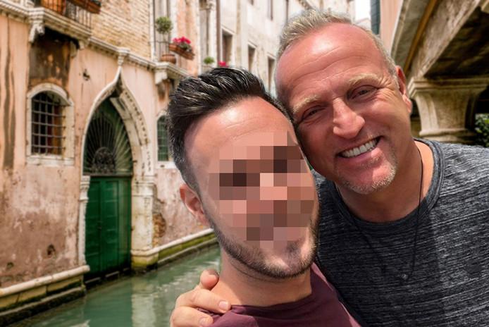 Gordon en B., hier op een fotomontage, zouden op Valentijnsdag naar Venetië gaan.