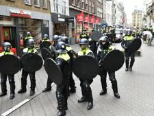 Acht aanhoudingen na demonstratie na tegen coronamaatregelen
