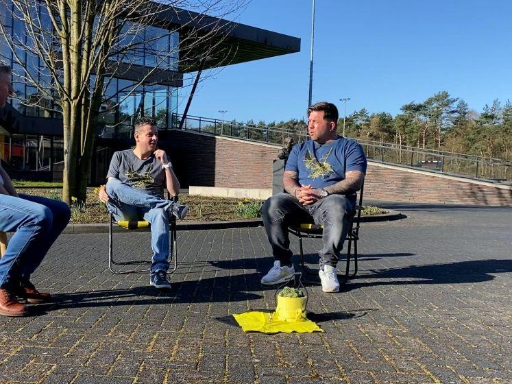 Theo Janssen zondag dronken bij Studio Voetbal? Theo wil dat graag