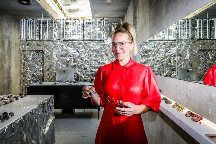 Eline De Munck opent Odette Lunettes in Knokke.