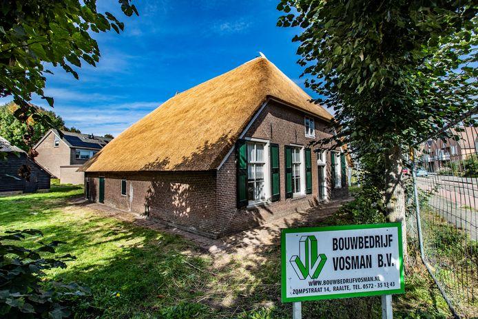 Cultuurboerderij Strunk in Raalte.