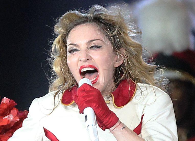 Madonna Beeld afp