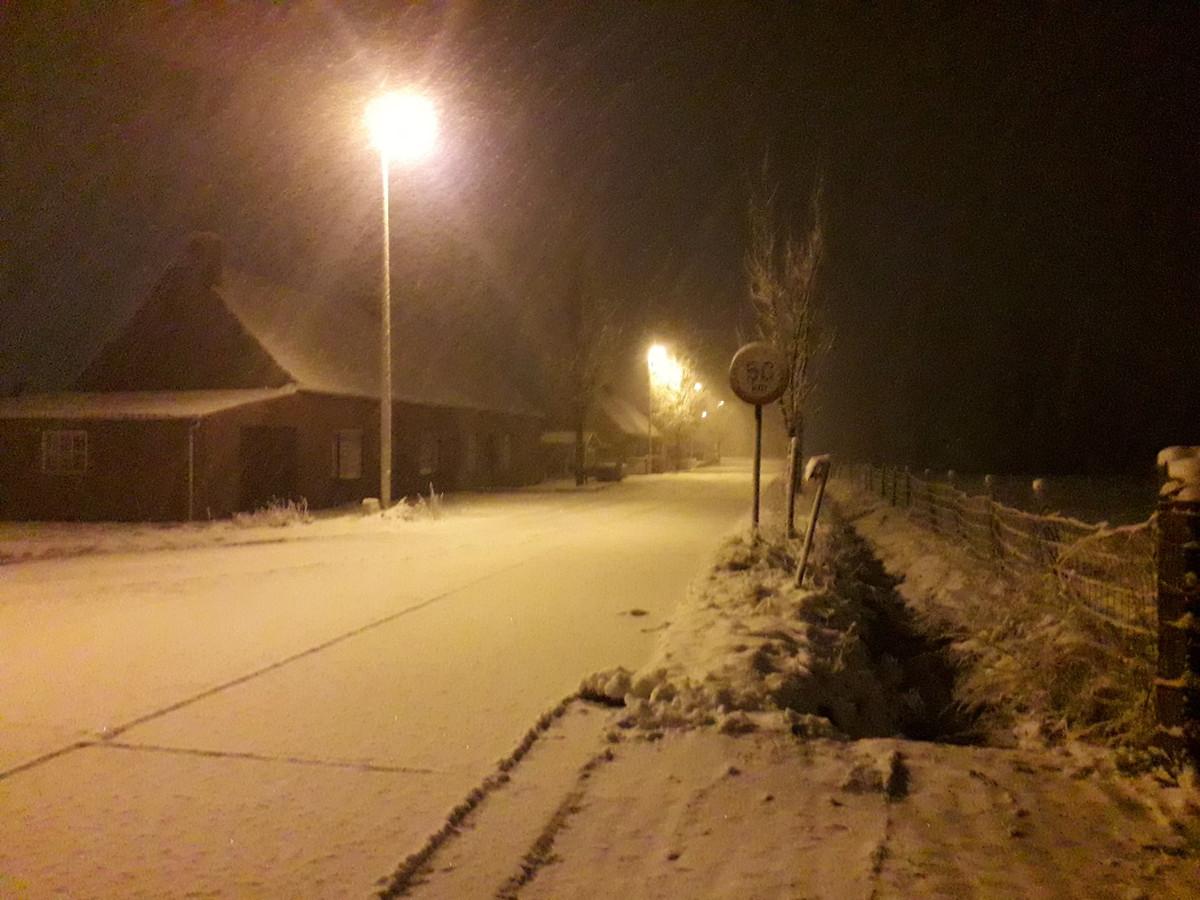 Boezinge in de sneeuw