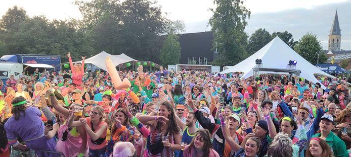 In totaal kwamen ruim 1.000 feestvierders naar de evenementenweide in Assenede.