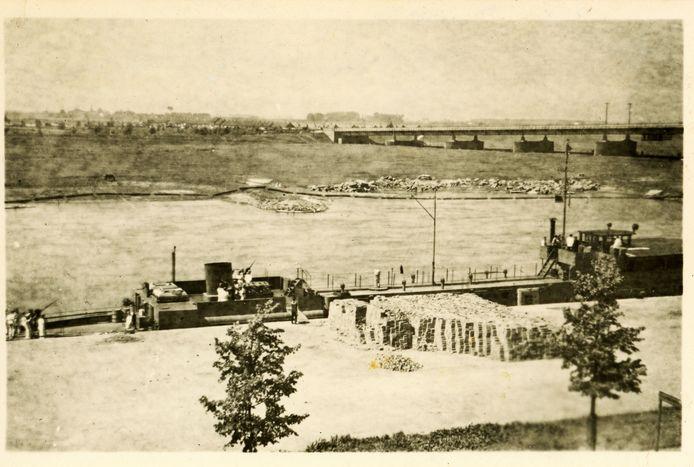 De Duitse marine in Arnhem, 29 mei 1944.