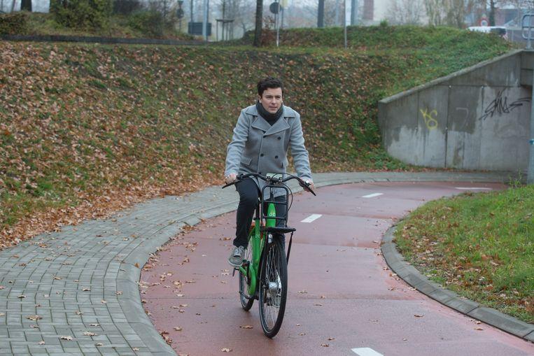 Voorzitter Liebrecht Krznaric van de fietsersbond