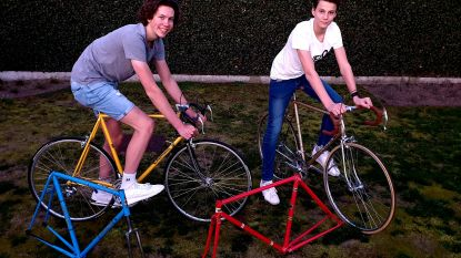 Jonge wielerfanaten organiseren eigen retrofietsbeurs