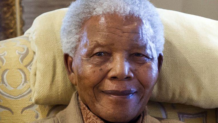 Mandela op archiefbeeld uit 2012 Beeld anp
