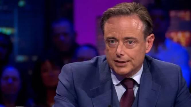 """Bart De Wever persiste: """"Voter pour le Vlaams Belang est complètement inutile"""""""