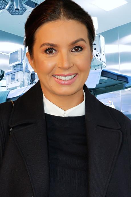 Rosanna blikt na operatie positief vooruit en Ferri laat 3D-echo maken